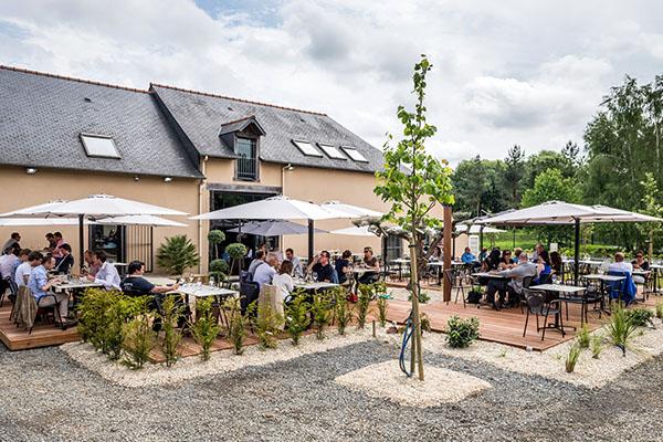 Façade du restaurant le HOO à Saint-Grégoire